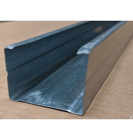 Protektor 50mm Galvanised Steel C Stud Profile 2.4m 1 Length