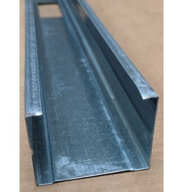 Protektor 60mm Galvanised Steel C Stud Profile 3m 1 Length