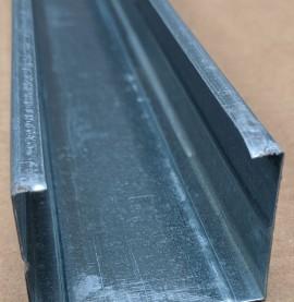 Protektor 60mm Galvanised Steel C Stud Profile 3m 1 Length