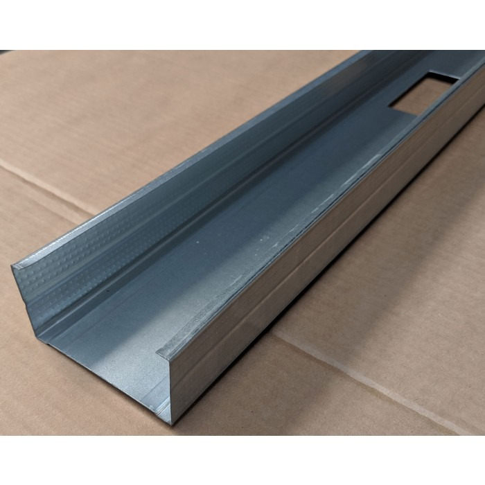 Protektor 70mm Galvanised Steel C Stud Profile 3m 1 Length
