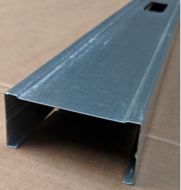 Protektor 70mm Galvanised Steel C Stud Profile 3.6m 1 Length