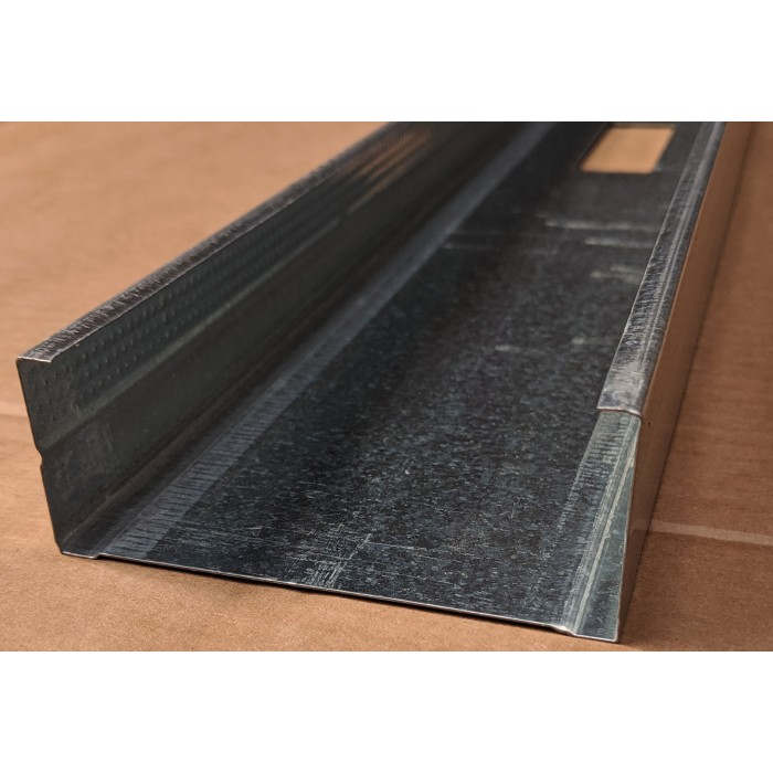 Protektor Galvanised Steel 90mm C Stud Profile 3m 1 Length