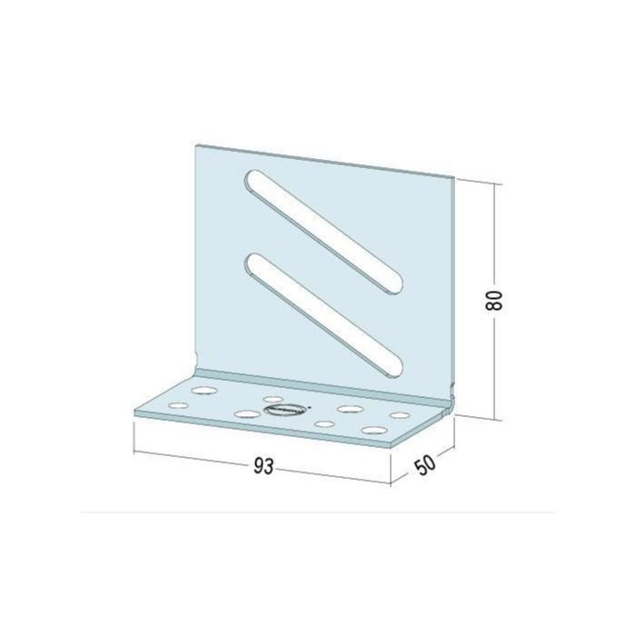 Protektor Connecting Bracket to fit Door Reinforcement Part 5131 Box of 100