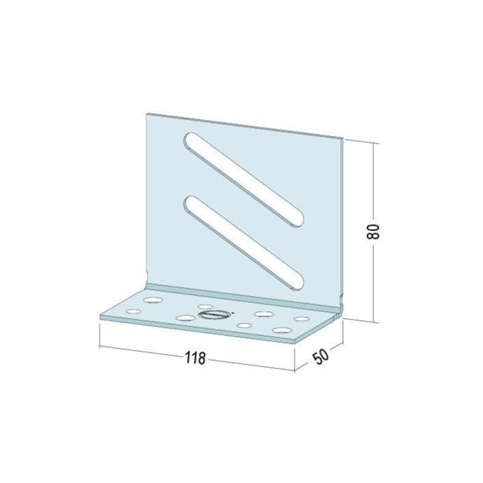 Protektor Connecting Bracket to fit Door Reinforcement Part 5132 or 5140 Box of 100