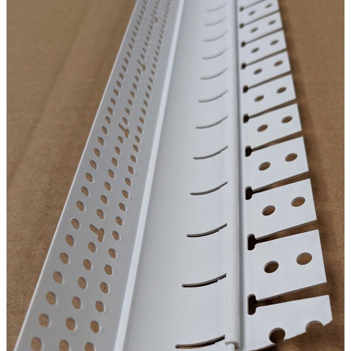 Trim Tex 19mm R Step A Bull Bullnose Archway Bead Trim-Tex 7140 1 Length