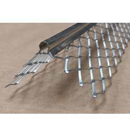 Protektor 10mm x 3mm x 48mm Stainless Angle Bead 3m 1 Length