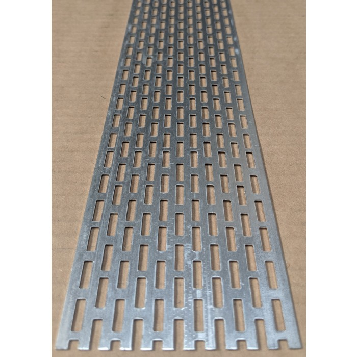 Wemico 70mm Aluminium Ventilation Strip 0.8mm x 2.5m 1 length