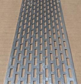 Wemico 70mm Aluminium Ventilation Strip 0.8mm x 2.5m 1 length