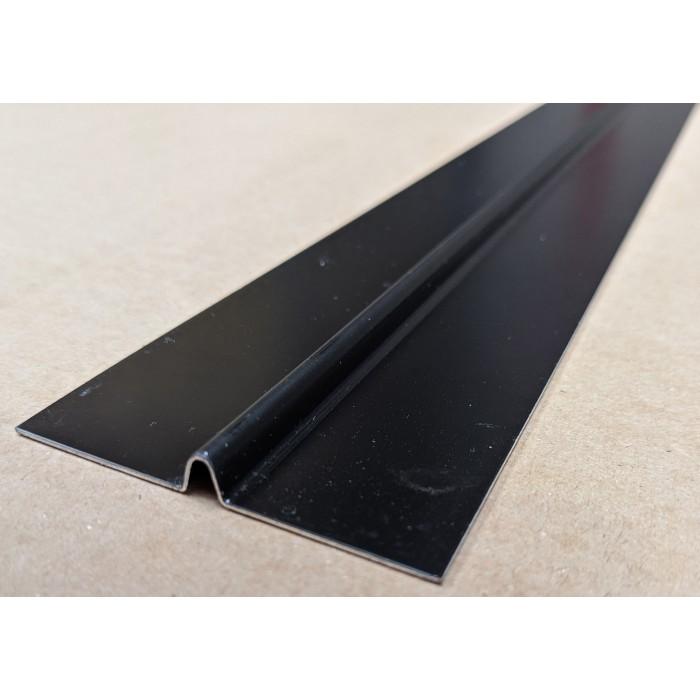 Aluminium Black Finish Bird Beak Joint Profile 1 length 62mm x 6mm x 6mm x 2.5m image #1