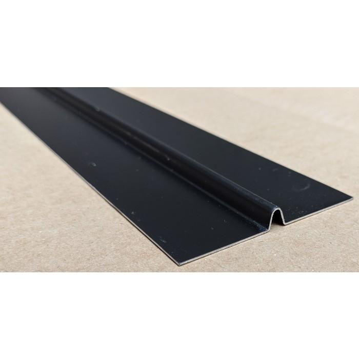 Aluminium Black Finish Bird Beak Joint Profile 1 length 62mm x 6mm x 6mm x 2.5m image #3