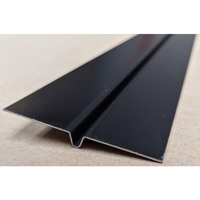 Aluminium Black Finish Bird Beak Joint Profile 1 length 62mm x 6mm x 6mm x 2.5m image #4