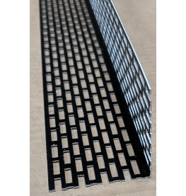 Wemico 50mm X 50mm Aluminium Black Coated Ventilation Profile 2.5m 1 length