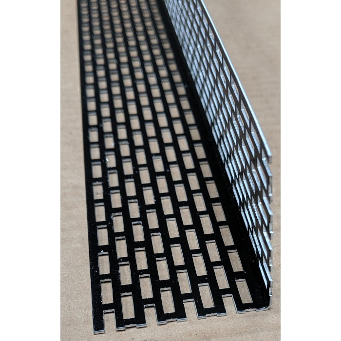 Wemico 50mm X 50mm Aluminium Black Coated Ventilation Profile 2.5mtr (1 length)