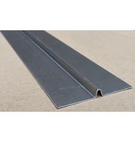 Wemico Aluminium Mill Finish Bird Beak Joint Profile 1 length 62mm x 6mm x 6mm x 2.5m