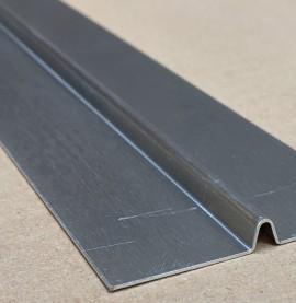 Wemico 6mm Aluminium Mill Finish Bird Beak joint Profile 1 length 2.5m