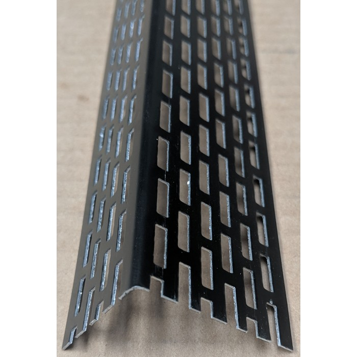 Wemico 30mm X 40mm Aluminium Black Coated Ventilation Profile 2.5mtr