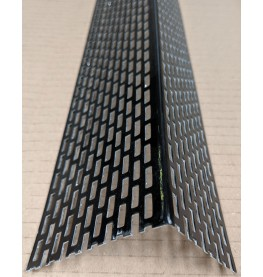 Wemico 50mm x 70mm Aluminium Black Coated Ventilation Profile 2.5m 1 length
