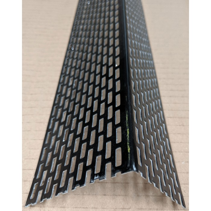 Wemico 50mm x 70mm Aluminium Black Coated Ventilation Profile 2.5m (1 length)
