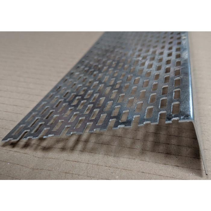 Wemico 30mm x 90mm Aluminium Ventilation Angle 2.5m 1 Length