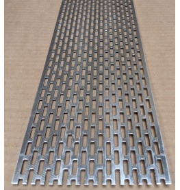 Wemico 100mm x 2.5m Aluminium Ventilation Strip 1 length