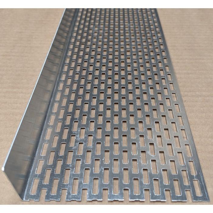 Wemico 30mm x 100mm Aluminium Ventilation Angle 2.5m 1 Length