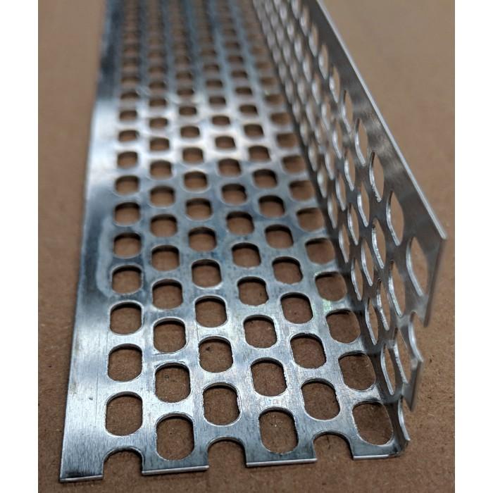 Aluminium Ventilation Angle 30mm x 30mm x 0.6mm x 2.5m 1 Length