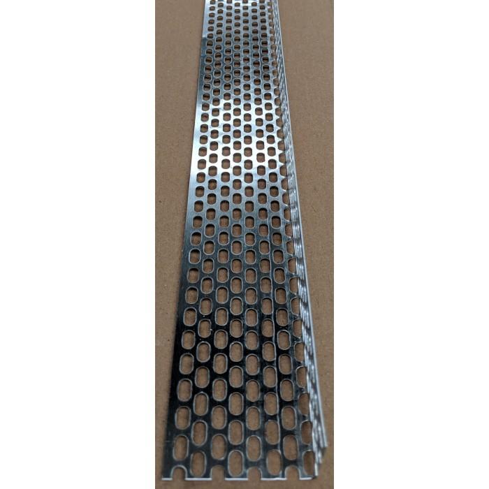 Aluminium Ventilation Angle 30mm x 60mm x 0.6mm x 2.5m 1 Length