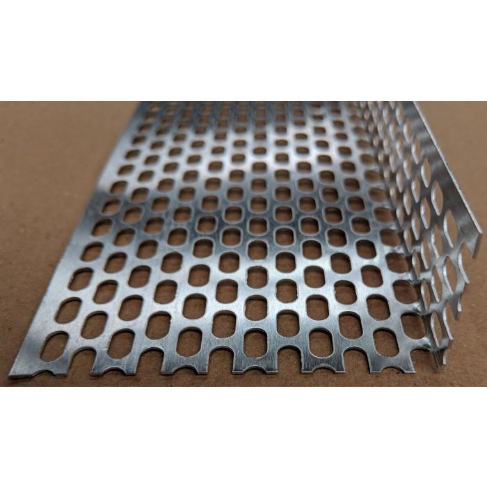 Aluminium Ventilation Angle 30mm x 50mm x 0.6mm x 2.5m 1 Length