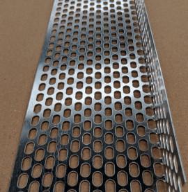 Aluminium Ventilation Angle 30mm x 80mm x 0.6mm x 2.5m 1 Length