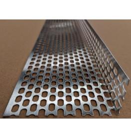 Aluminium Ventilation Angle 30mm x 90mm x 0.6mm x 2.5m 1 Length