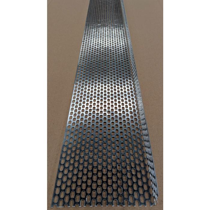 Aluminium Ventilation Angle 30mm x 100mm x 0.6mm x 2.5m 1 Length