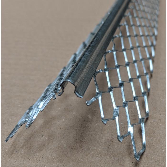 Protektor 10-13mm Galvanised Steel Corner Bead 2.4m box 50