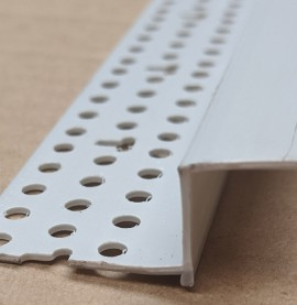 Trim-Tex 12mm Shadow Gap Silver PVC Feature Bead Profile 12.5mm x 12mm x 305cm 1 length AS5510S