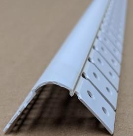 Trim-Tex 350 Bullnose Archway Bead White PVC 3m 1 Length 35020