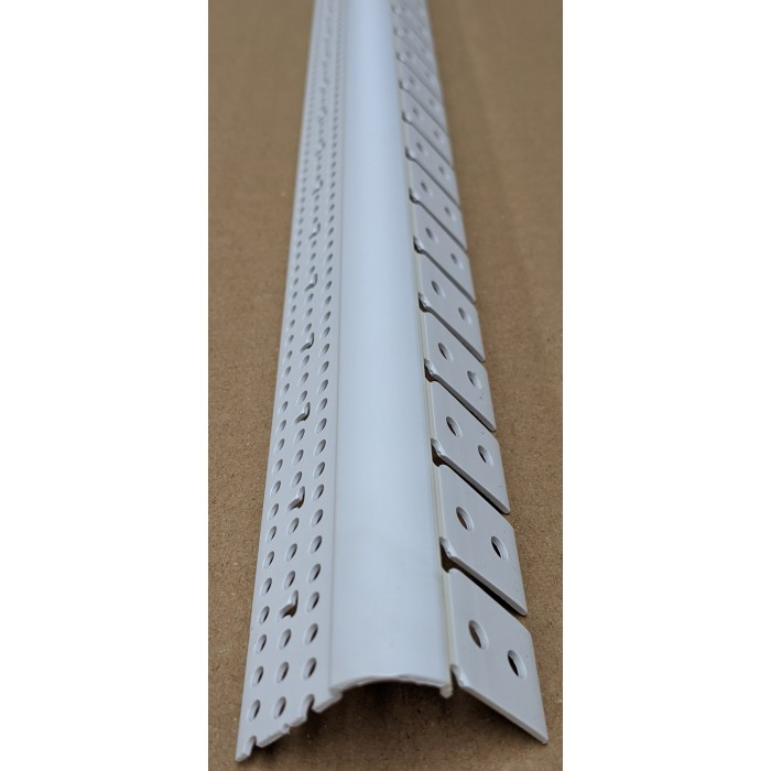 Trim-Tex 350 Bullnose Archway Bead White PVC 3m 1 Length 35020