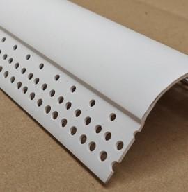 Trim-Tex White PVC Bullnose Outside Corner Bead 3m 1 Length 7099