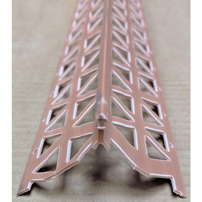 Terracotta PVC Corner Bead 10 - 12mm Render Depth 2.5m 1 Length