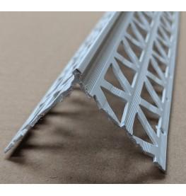 White PVC Corner Bead 4 - 6mm Render Depth 2.5m 1 Length