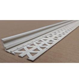 Ivory 6-12mm Render Depth PVC Drip / Bellcast Bead 2.5m 1 Length