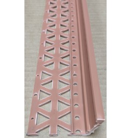 Terracotta 13-22mm Render Depth PVC Drip / Bellcast Bead 2.5m 1 Length