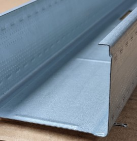 Protektor Din Standard 0.6mm Galvanised Steel Stud Profile 1 x 3.5m Length