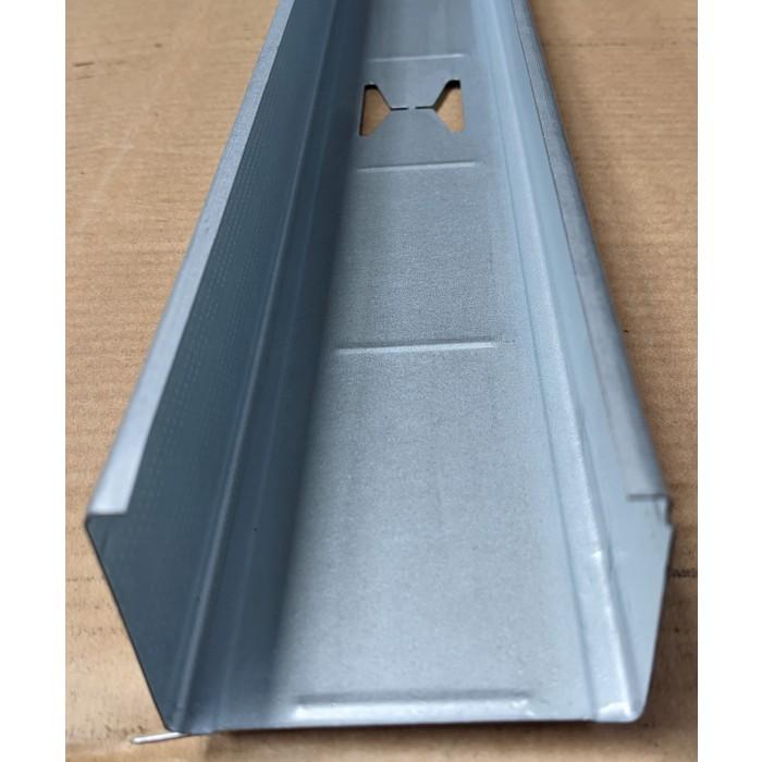 Protektor DIN Standard 0.6mm Galvanised Steel Stud Profile 1 x 3m Length