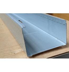 Protektor Galvanised Steel DIN Standard 0.6mm Stud Profile 74 x 0.6mm x 3m 1 Length