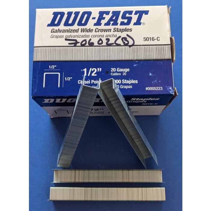 "Trim-Tex Surebonder ½"" 12.7mm Chisel Point Staples Box of 5000"