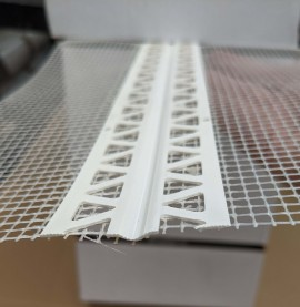 Protektor Flexible Corner Bead with Glass Fibre Mesh 90 x 110mm 1 x 50m Roll
