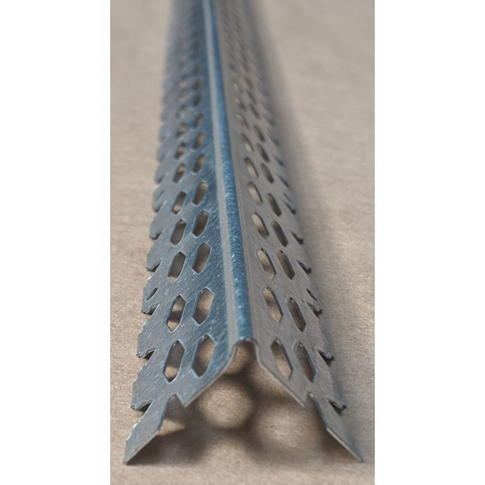Protektor 3mm Galvanised Corner Bead 2.4M (box 50)