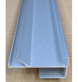 Protektor LED Aluminium Edge Profile 26mm x 50mm x 1.5m 1 Length