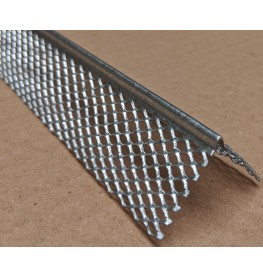 Protektor 3mm x 28mm x 300cm Galvanised Steel Mini Mesh Corner Bead Box 50