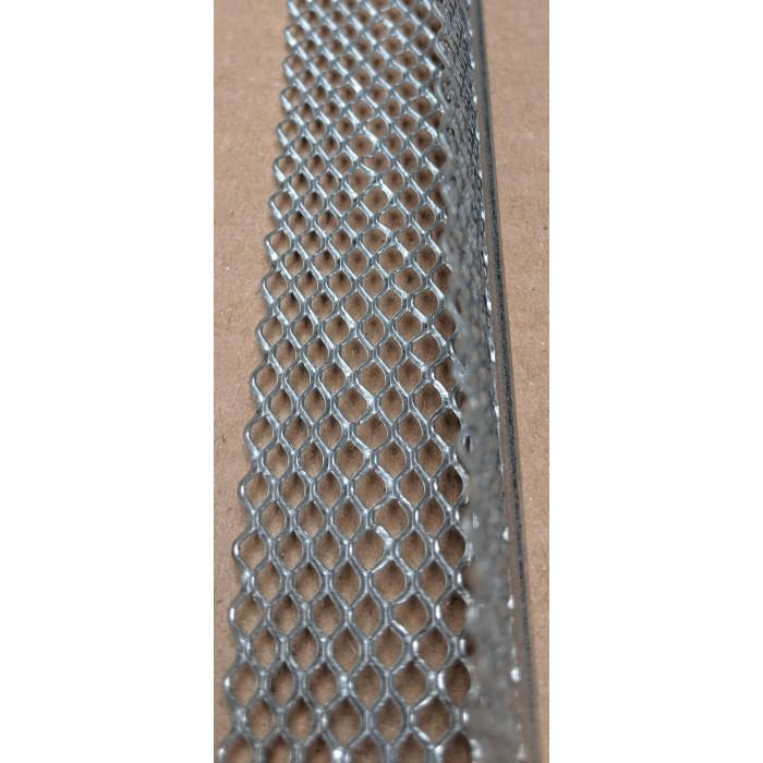 Protektor 3mm x 28mm x 300cm Galvanised Steel Mini Mesh Corner Bead Box 50