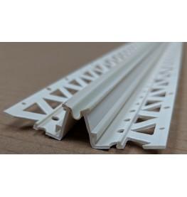 Ivory 10 - 12mm Render Depth PVC Movement Bead 2.5m 1 Length